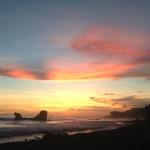 Playa El Tunco Sunset